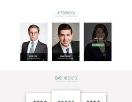 ShranyaKabotra6 tarafından Home page layout concept for law firm için no 9