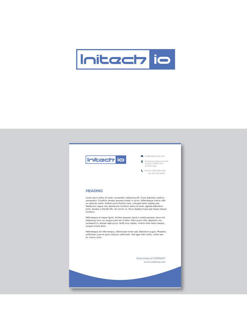 Corporate Letterhead | Entry 4 By Lktamim For Create A Logo And Corporate Letterhead For A