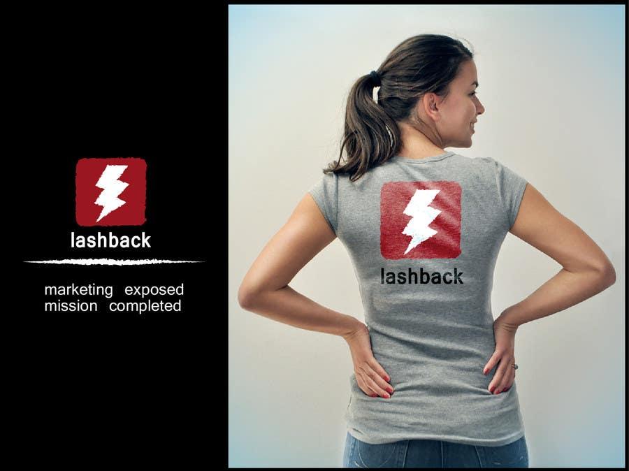Inscrição nº 215 do Concurso para T-shirt Design for LashBack, LLC