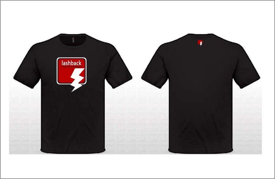 Inscrição nº 91 do Concurso para T-shirt Design for LashBack, LLC