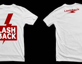 #94 para T-shirt Design for LashBack, LLC por foralz1