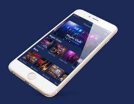 #6 for Design a nightlife club App Mockup by kingtimo555