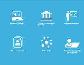 #4 for Redesign icons for website by LjJun