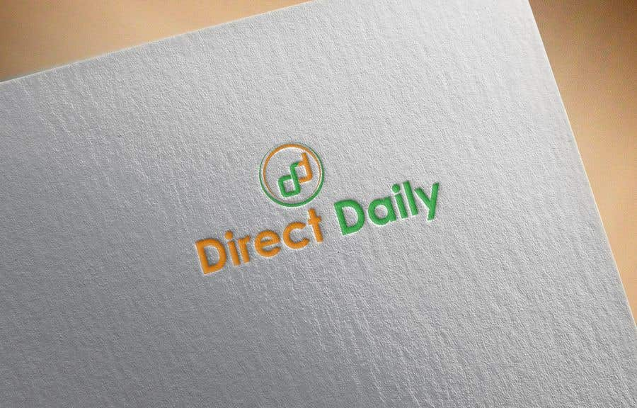 "Contest Entry #38 for Design a very simple logo for the company name ""Direct Daily"""