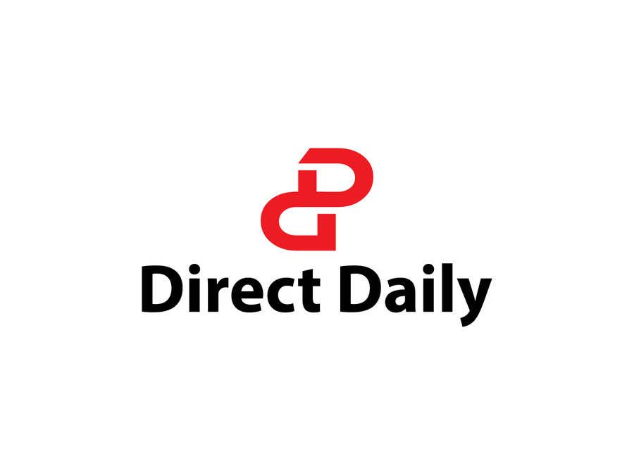 "Contest Entry #40 for Design a very simple logo for the company name ""Direct Daily"""