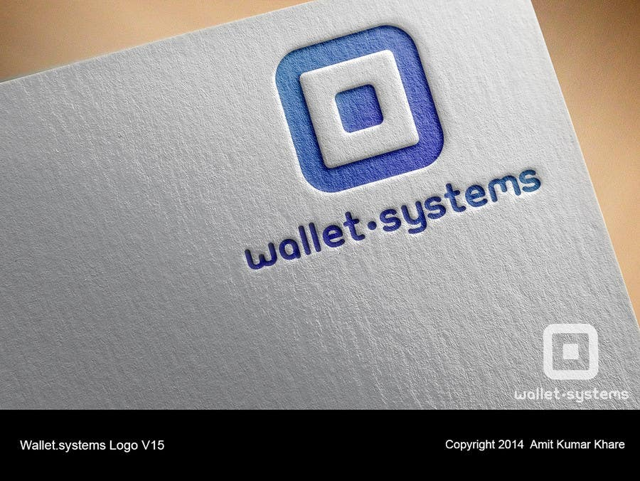 Penyertaan Peraduan #                                        81                                      untuk                                         Design a logo for wallet.systems