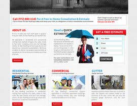 nº 27 pour Website Design for All Star Roofing par MishAMan