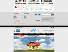 nº 32 pour Website Design for All Star Roofing par MishAMan