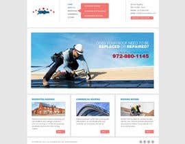 #23 pentru Website Design for All Star Roofing de către vijayadesign