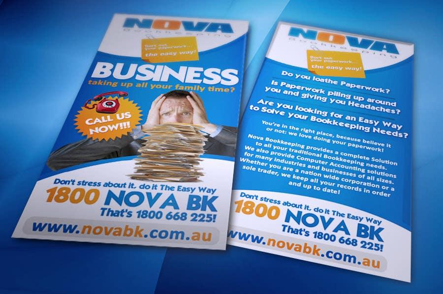 Bài tham dự cuộc thi #5 cho Flyer Design for Nova Bookkeeping