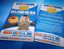nº 6 pour Flyer Design for Nova Bookkeeping par creationz2011