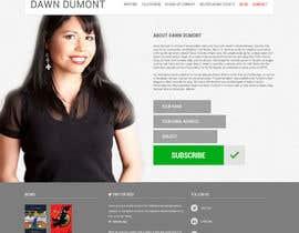 #23 для Design a Website Mockup for Individual від Ankur0312