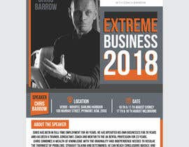 #6 for Extreme Business 2018 - Flyer by ahmadyusuf1998