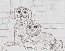 #7 for Draw my dogs by Aukenai