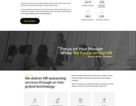 #17 cho Website Homepage Graphic Design - (ONE PAGE ONLY) bởi MagicalDesigner