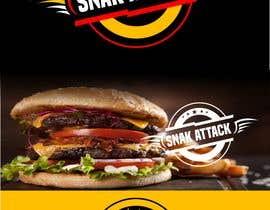 """#26 untuk Logo for food truck name """"Snak Attack"""" Colors not more than three colors oleh planzeta"""