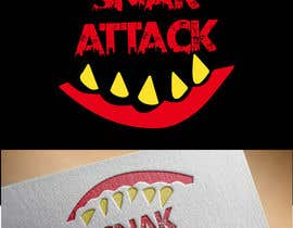 """#20 untuk Logo for food truck name """"Snak Attack"""" Colors not more than three colors oleh Nakibhnihal"""