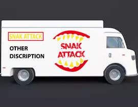 """#25 untuk Logo for food truck name """"Snak Attack"""" Colors not more than three colors oleh Nakibhnihal"""