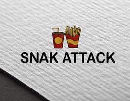 """#19 untuk Logo for food truck name """"Snak Attack"""" Colors not more than three colors oleh Abhiroy470"""