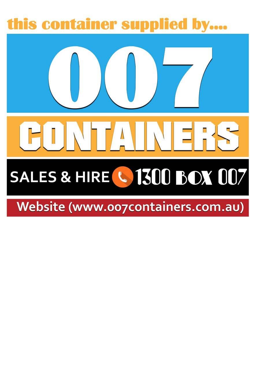 Konkurrenceindlæg #27 for Design a sticker