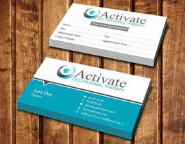 #19 untuk Design some Business Cards for Activate Occupational Therapy oleh dinesh0805