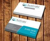 Graphic Design Entri Peraduan #22 for Design some Business Cards for Activate Occupational Therapy