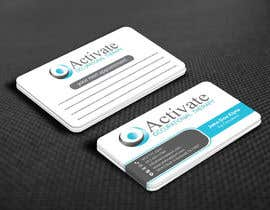 #56 untuk Design some Business Cards for Activate Occupational Therapy oleh mamun313