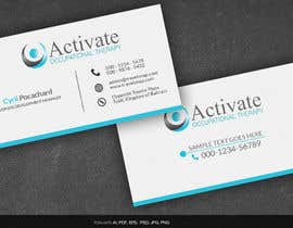 #66 untuk Design some Business Cards for Activate Occupational Therapy oleh arnee90