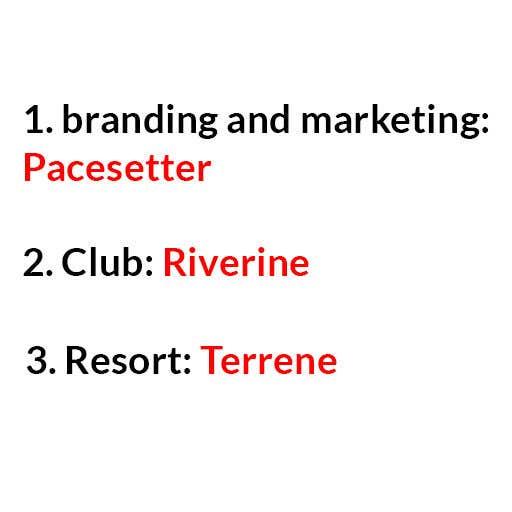 Kilpailutyö #1 kilpailussa Need 3 names for Social Media Marketing Project