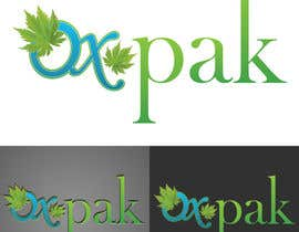 #401 for Logo Design for OXPAK: cannabis storage containers by pateljayendra78