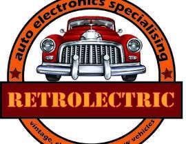 #82 untuk Retro auto electrician logo design oleh debashish01