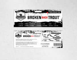 #11 para Broken Back Trout Packaging de Qomar