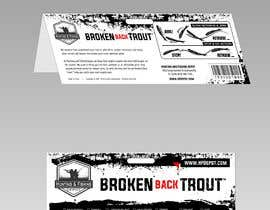 #12 para Broken Back Trout Packaging de Qomar