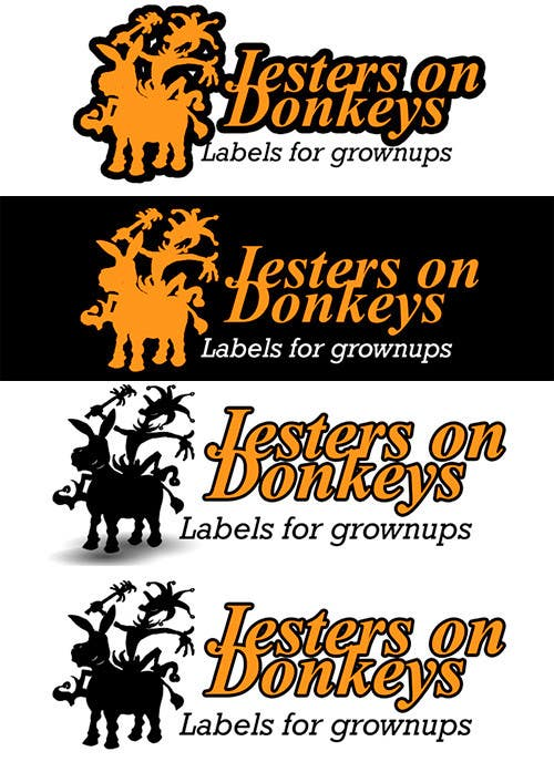 "#75 for This should be fun: ""Jesters on Donkeys"" looking for company logo design by gbarco"
