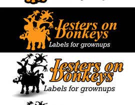 "#75 para This should be fun: ""Jesters on Donkeys"" looking for company logo design por gbarco"