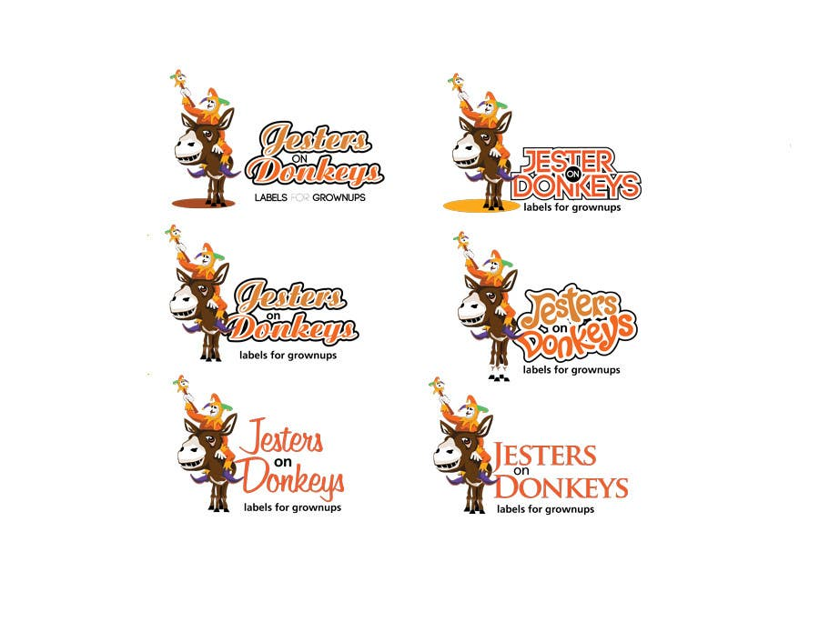 "#76 for This should be fun: ""Jesters on Donkeys"" looking for company logo design by labebe"