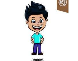 Nro 4 kilpailuun Draw a cartoon boy with 4 facial expressions käyttäjältä kcjneththie