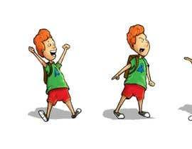 Nro 30 kilpailuun Draw a cartoon boy with 4 facial expressions käyttäjältä adi0os