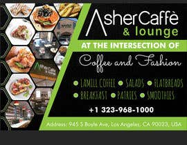 #31 for Design an Adverstisement for Coffee Shop / Fabric Store by savitamane212