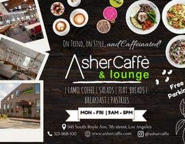 #18 for Design an Adverstisement for Coffee Shop / Fabric Store by aprana2009
