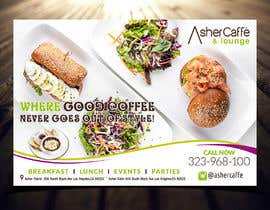 #9 for Design an Adverstisement for Coffee Shop / Fabric Store by FantasyZone