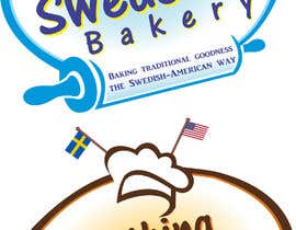 #10 for Logo for Something Swede-Ish Home baking business by brycesison