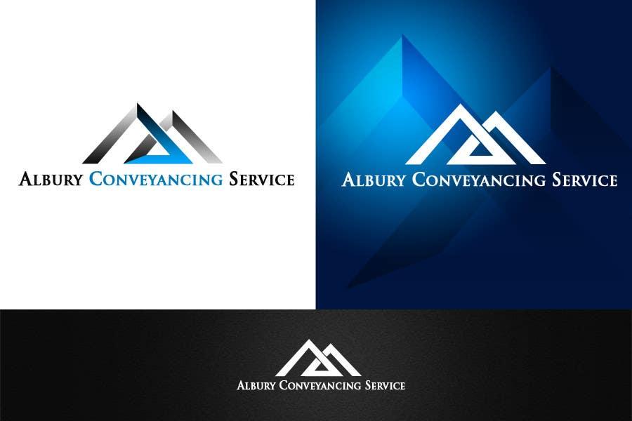 Bài tham dự cuộc thi #                                        573                                      cho                                         Logo Design for Albury Conveyancing Service