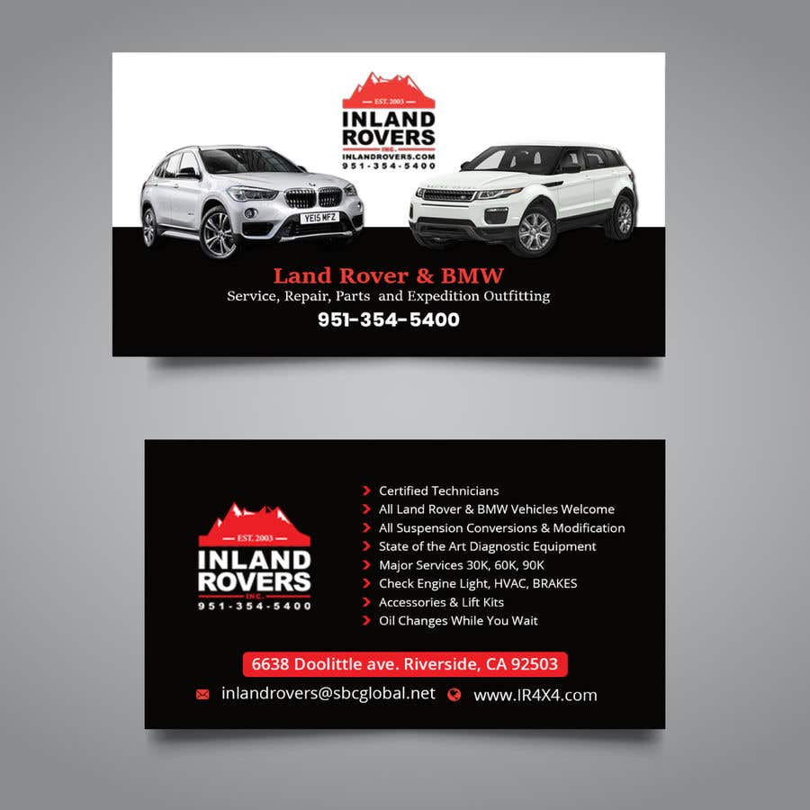 Entry #479 by juwel786 for Update Business Card Professional