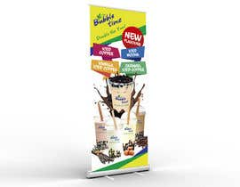 #12 for pull up banner design for new flavours by jamegroz