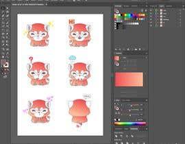 #10 untuk Stickers pack design oleh wahidxaman