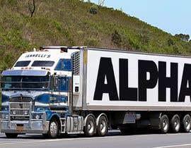 nº 13 pour Truck Logo par MadokaAzarni