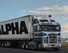 nº 2 pour Truck Logo par bhimdas96