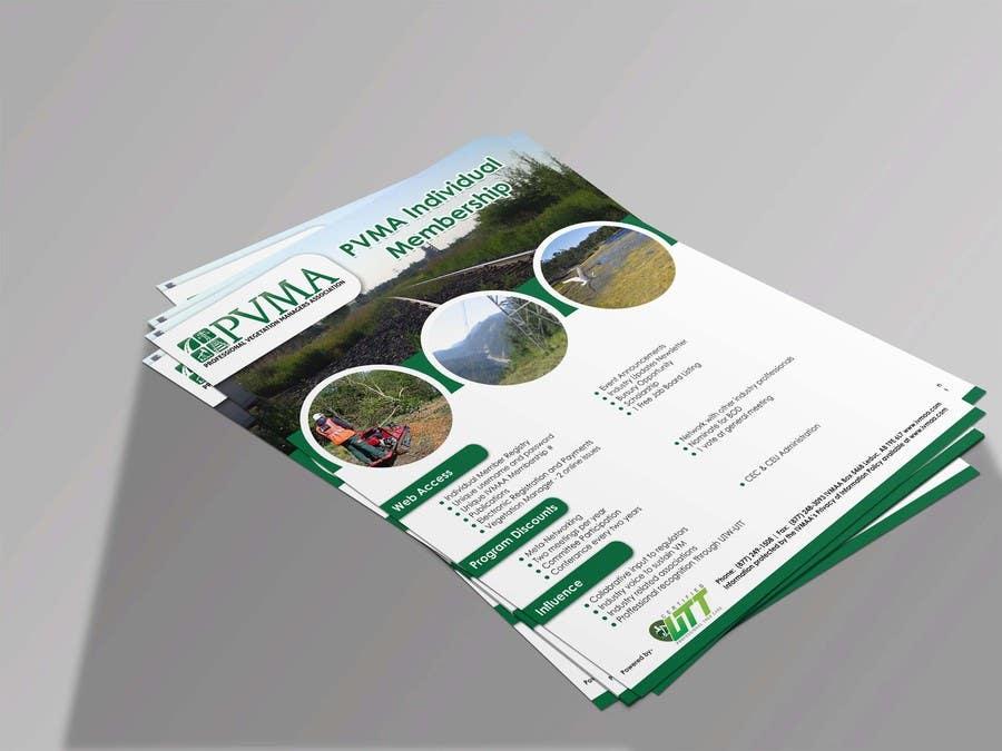Inscrição nº                                         24                                      do Concurso para                                         Design a Brochure for PVMA