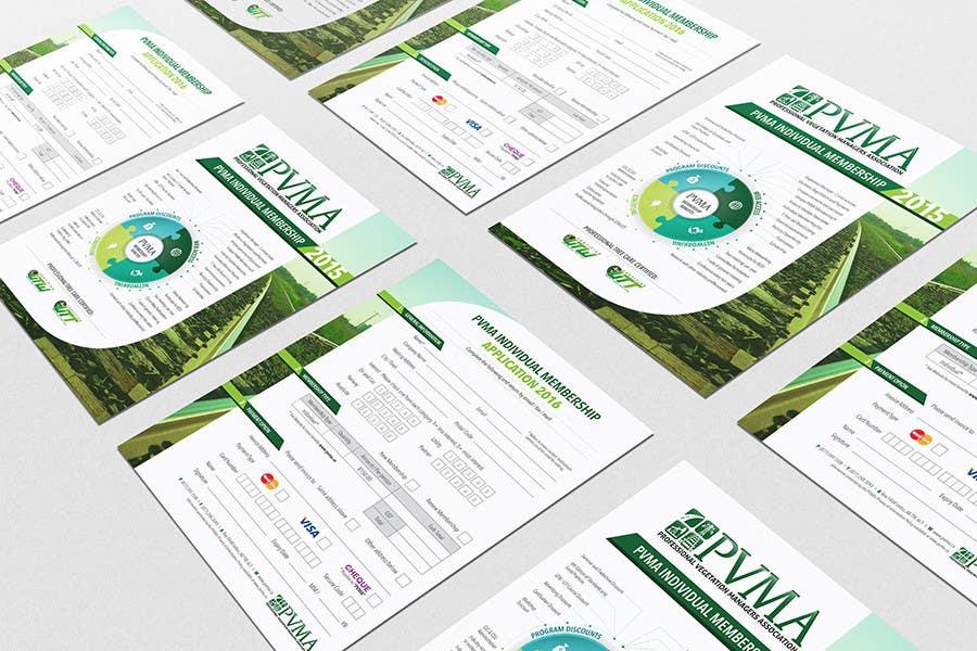 Inscrição nº                                         15                                      do Concurso para                                         Design a Brochure for PVMA